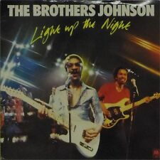 "THE BROTHERS JOHNSON 'LIGHT UP THE NIGHT' UK PICTURE SLEEVE 7"" SINGLE"