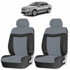 GRAY ELEGANCE AIRBAG COMPATIBLE LOWBACK SEAT COVERS SET for HONDA ACCORD CRV
