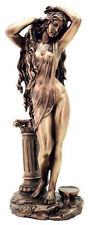Aphrodite Venus Bathing with Column Goddess of  Love and Beauty Statue #3231