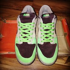 "NEW 2004 NIKE DUNK LOW QS ""ALOHA"" x KICKS HAWAII SZ 11.5 SUPREME JORDAN NIKE SB"