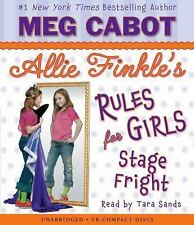 Allie Finkle's Rules for Girls Book 4: Stage Fright - Audio 2009 by C 0545039517