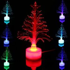 Mini USB Mutil-Color Changing Christmas Tree LED Night Light Lamp Bulb DC 5V