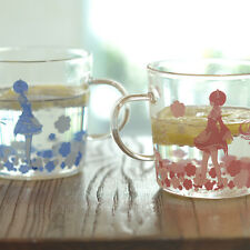 Re: Life in a Different World from Zero Rem Ram Glass Cup Mug One Pair