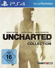 Uncharted: The Nathan Drake Collection (Sony PlayStation 4, 2015)