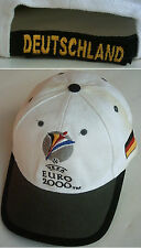 Orig.Basecap   Europameisterschaft NIEDERLANDE / BELGIEN 2000 - DEUTSCHLAND  !!