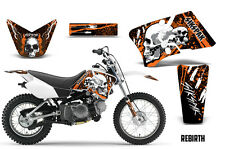 SIKSPAK Yamaha TTR90 Graphic Kit Sticker Wrap Bike MX Decals 2000-2007 REBIRTH O