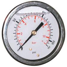 Calibrador de presión 63mm G1/4 BSPP 0 - 20Bar/300psi Trasero