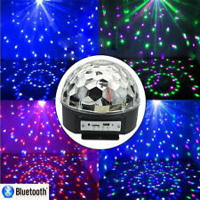 Mini DMX Disco LED RGB Crystal Magic Ball Effect Lighting Party Stage Light US