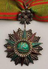 Tunisie: Ordre du Nicham Iftikar, étoile de commandeur, Ali Bey, 1882-1902