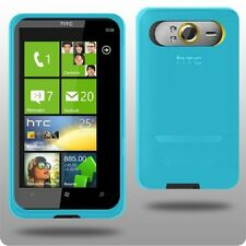BLUE HYDRO GEL CASE SKIN COVER SKIN FOR HTC HD7 UK