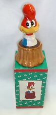 "1990s WOODY WOODPECKER Ceramic Bank  6"" MIB Applause"