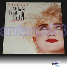 """MADONNA """"WHO'S THAT GIRL"""" RARE LP ITALY OST - SEALED"""