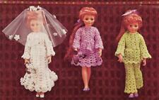 "CRISSY DOLL or 18 ""DOLL 8ply - doll crochet pattern"