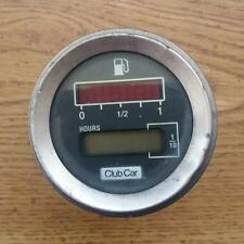 Club Car golf cart state of charge gas meter