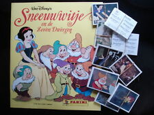 PANINI  EMPTY ALBUM + ALL 225 STICKERS OF SNEEUWWITJE EN DE 7 DWERGEN