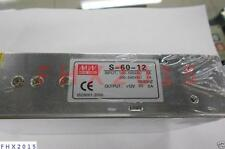 ONE Meanwell S-60-12 switching power supply 12V5A DC output power supply