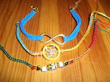 *NEW* Multicolor Handmade Infinity Love Eternal Friendship Bracelets, set #13