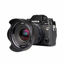 Meike 12mm f/2.8 Wide Angle Fixed Manual Focus Lens with Hood for FujiFILM Cams
