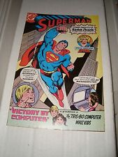Superman # 1 Compliments Of Radio Shack DC Comic Book FN Condition Supergirl