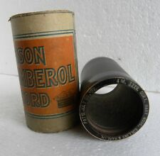 4-Min-Walze Cylinder-Phonograph-Record-US Indestructible-COLLINS+HARLAN-1911