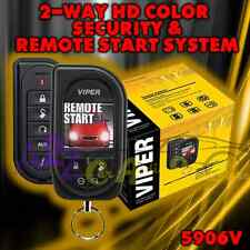 VIPER 5906V +2YR WARNT 2 WAY CAR TRUCK ALARM SECURITY REMOTE START 1 MILE SYSTEM