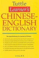 Tuttle Learner's Chinese English Dictionary