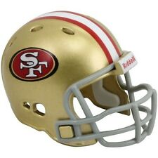 "SAN FRANCISCO 49ERS POCKET PRO NFL FOOTBALL HELMET 2"" SIZE  Made By RIDDELL!"