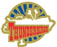Gerry Anderson's Thunderbirds Thunderbird  Five  enamel pin badge BRAND NEW  !