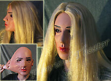 SHARON LADY MASK B - Realistic Female Latex Face Frauenmaske Frauengesicht Gum