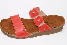 NAOT Ashley Orange Leather Sandals Sz EU 42 US 11 NWOB $145