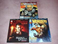 FAMOUS MONSTERS # 288 (3 copies) Lugosi, Forry, Six Million Man Regular versions