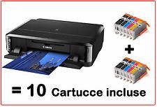STAMPANTE CANON PIXMA IP7250 IP 7250 STAMPA SU CD/DVD WIFI - CON 10 CARTUCCE XL