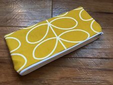 HANDMADE PENCIL MAKE UP GLASSES CASE - ORLA KIELY DANDELION LINEAR STEM FABRIC