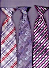 Wholesale:  ( 3-Lot ) Clip On Men's Ties.