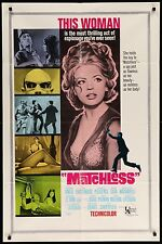 Sexy Ira Furstenberg MATCHLESS VINTAGE 1967 ONE 1-Sheet Movie Poster