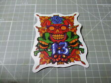 SKULL 13 Sticker/ Decal Bumper Stickers Actual Pattern NEW