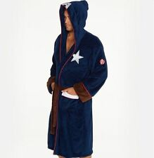 Marvel Captain America Civil War Bathrobe Dressing Gown (Adult Mens bath robe)