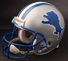 BARRY SANDERS Edition DETROIT LIONS Riddell REPLICA Football Helmet