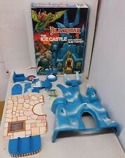 Vintage Galoob Blackstar ICE CASTLE W/ Box -Incomplete, Minor Damage He-Man-Size