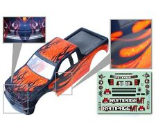 1:5 Redcat Rampage Monster Truck Orange & Black Body Shell With Decals MT XT