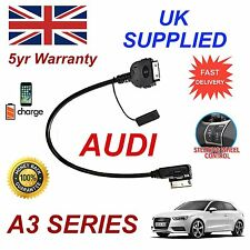 For AUDI A3 iPhone 3gs 4 4s & iPod AMI MMI 4F0051510K Audio Cable