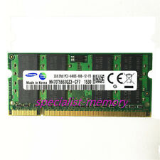 New Samsung 2GB DDR2-800MHZ PC2-6400 pc6400 Laptop Memory 200-pin sodimm