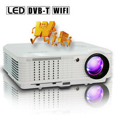 Android WiFi DVB-T LED Projector Home Theater Movie Game Digital TV 4500LM USB
