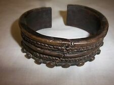 african neck ring from Liberia heavy metal torc very old collected by missionary