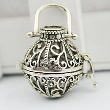 Harmony Ball Locket Necklace for Mexican Bell Prenatal Education Music Box Gift