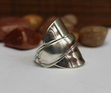 SPOON RING ! Sterling 925 Silver , Antique Silver Ring , ALL SIZES AVAILABLE