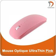 UltraThin Souris Sans Fil Optique Optical Wireless Muis Wireless Mouse Pink Rose