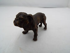 AUSTRIAN RARE MINIATURE BRONZE BULLDOG LATE 19th/Early 20thc