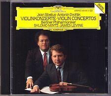 Shlomo MINTZ: DVORAK & SIBELIUS Violin Concerto James LEVINE CD Violinkonzerte