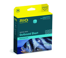 RIO TROPICAL OUTBOUND SHORT WF10F/I #10 WT FWD 10FT CLEAR TIP SALTWATER FLY LINE